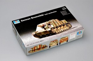 TRUMPETER 07212 1:72 German Brummbar Late production