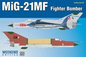 EDUARD 7451 1:72 MiG-21MF Fighter Bomber