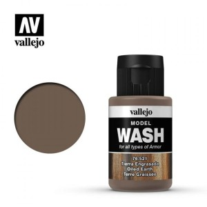 VALLEJO 76521 MODEL WASH - Oiled Earth 35ml