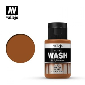 VALLEJO 76513 MODEL WASH - BROWN 35ml