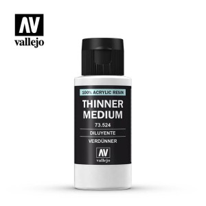 VALLEJO 73524 THINNER MEDIUM 60ml