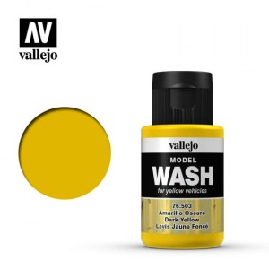 VALLEJO 76503 MODEL WASH - DARK YELLOW 35ml