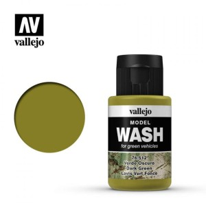 VALLEJO 76512 MODEL WASH - DARK GREEN 35ml