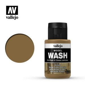 VALLEJO 76520 MODEL WASH- Dark Khaki Green 35ml