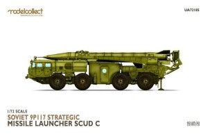 MODELCOLLECT UA72185 1:72 Soviet 9P117 Strategic missile launcher (SCUD C)