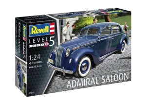 REVELL 07042 1:24 LUXURY CLASS CAR ADMIRAL