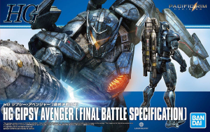 PACIFIC RIM 55864 GIPSY AVENGER (Final Battle Specifications)