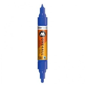 MOLOTOW ONE4ALL TWIN 204 TRUE BLUE (1,5 mm + 4 mm)