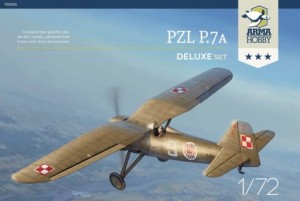 ARMA HOBBY 70005 1:72 PZL P.7a DELUXE SET
