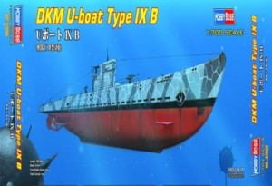 HOBBY BOSS 87006 1:700 German U-boat Type IX B