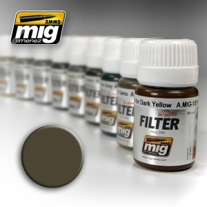 AMMO 1502 FILTER DARK GREY FOR WHITE 35ml