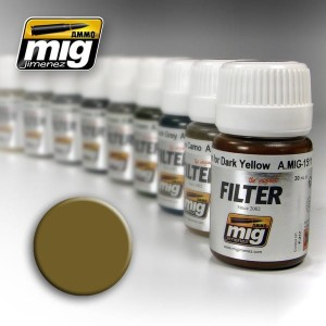AMMO 1503 FILTER OCHRE FOR LIGHT SAND 35ml