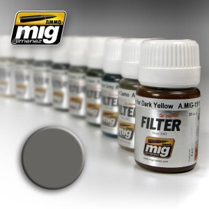 AMMO 1501 FILTER GREY FOR WHITE 35ml