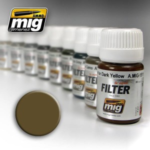 AMMO 1504 FILTER BROWN FOR DESERT YELLOW 35ml