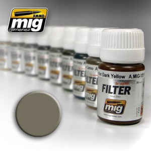 AMMO 1505 FILTER GREY FOR YELLOW SAND 35ml