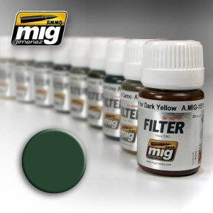 AMMO 1508 FILTER GREEN FOR GREY GREEN 35ml