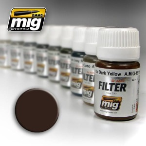 AMMO 1511 FILTER BROWN FOR DARK YELLOW 35ml