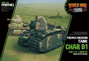 MENG WWT016 1:EGG French Heavy Tank