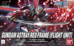 GUNDAM HG 55602 ASTRAY RED FRAME (FLIGHT UNIT)