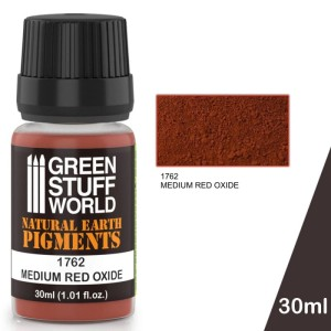 GSW 1762 PIGMENT MEDIUM RED OXIDE 30ml