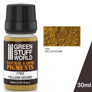 GSW 1763 PIGMENT YELLOW OCHRE 30ml