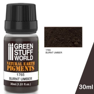 GSW 1765 PIGMENT BURNT UMBER 30ml