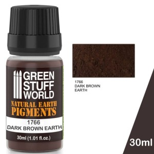 GSW 1766 PIGMENT DARK BROWN EARTH 30ml