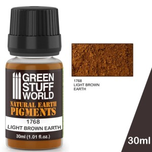 GSW 1768 PIGMENT LIGHT BROWN EARTH 30ml
