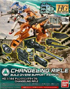 GUNDAM BROŃ HG 25732 CHANGELING RIFLE