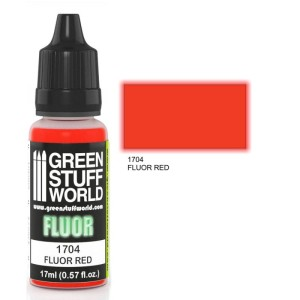 GSW 1704 FLUORESCENT RED 17ml