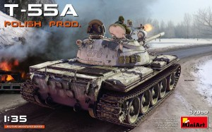 MINIART 37090 1:35 T-55A POLISH PRODUCTION