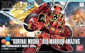 GUNDAM SD 55442 RED WARRIOR AMAZING