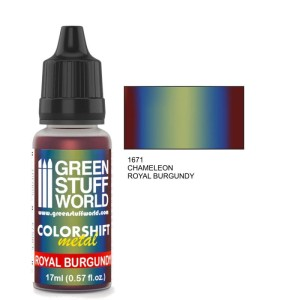 GSW 1671 COLORSHIFT METAL ROYAL BURGUNDY 17ml
