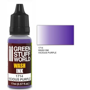 GSW 1714 WASH INK VICIOUS PURPLE 17ml