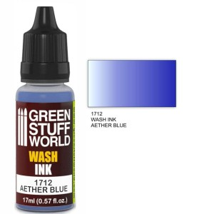 GSW 1712 WASH INK AETHER BLUE 17ml