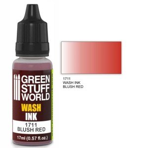GSW 1711 WASH INK BLUSH RED 17ml