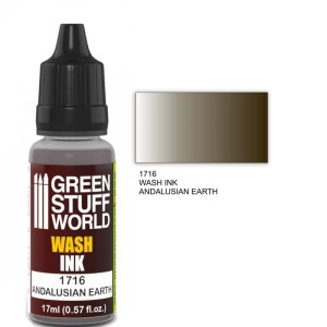 GSW 1716 WASH INK ANDALUSIAN EARTH 17ml