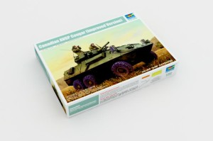 TRUMPETER 01504 1:35 Canadian AVGP Cougar (Improved Version)