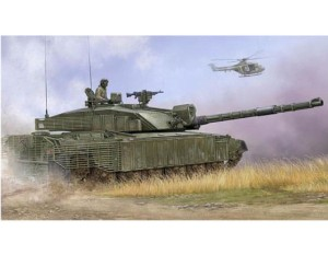 TRUMPETER 01522 1:35 British Main Battle Tank Challenger 2 with Anti-Heat Fence