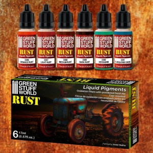 GSW 10126 Liquid Pigments Set - Rust