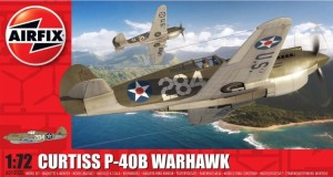 AIRFIX 01003B 1:72 Curtiss P-40B Warhawk