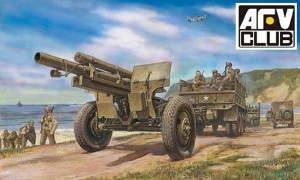 AFV CLUB 35160 1:35 American M2A1 105mm Howitzer and Carriage M2