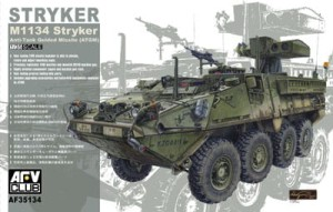 AFV CLUB 35134 1:35 American M1134 Stryker Anti-Tank Guided Missile (ATGM)