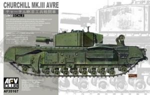 AFV CLUB 35167 1:35 Churchill Mk. III AVRE