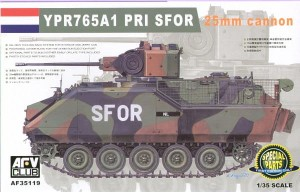 AFV CLUB 35119 1:35 NATO YPR765A1 PRI SFOR 25mm Cannon