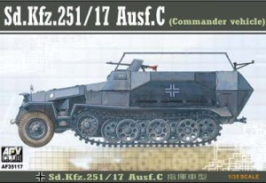 AFV CLUB 35117 1:35 SdKfz 251/17 Ausf C Command Halftrack