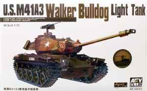 AFV CLUB 35041 1:35 M41A3 Walker Bulldog Light Tank