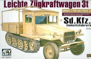 AFV CLUB 35047 1:35 Sdkfz II, Late Wood Cab