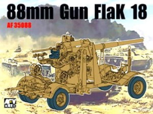 AFV CLUB 35088 1:35  8,8cm FLAK 18 GERMAN
