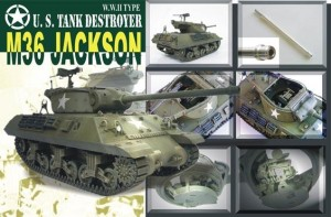 AFV CLUB 35058 1:35 US M36 Jackson